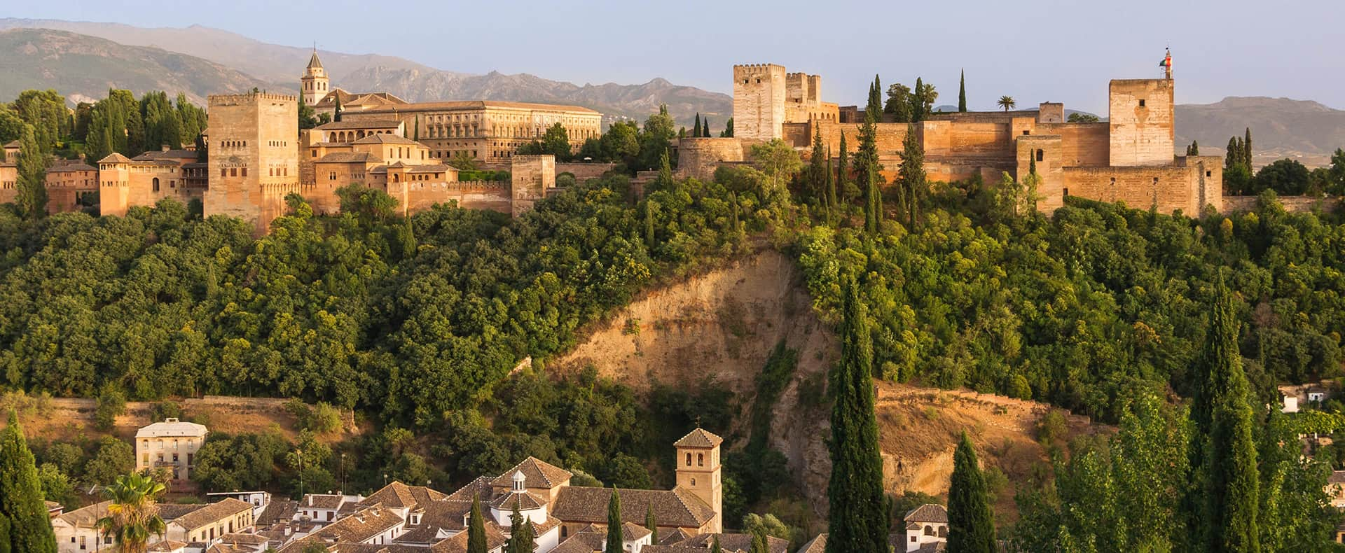 Alhambra Fortress, Granada, Spain