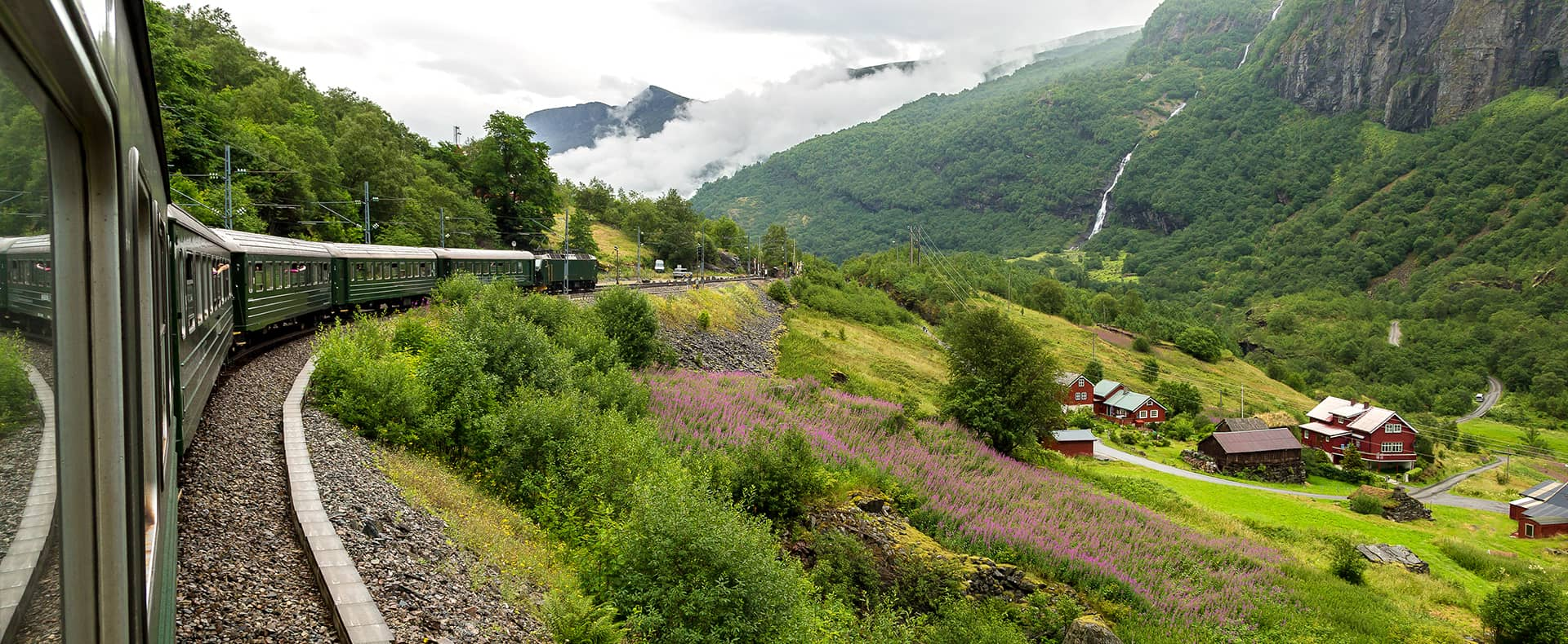 Flamsbana Railway, Flam, Norway