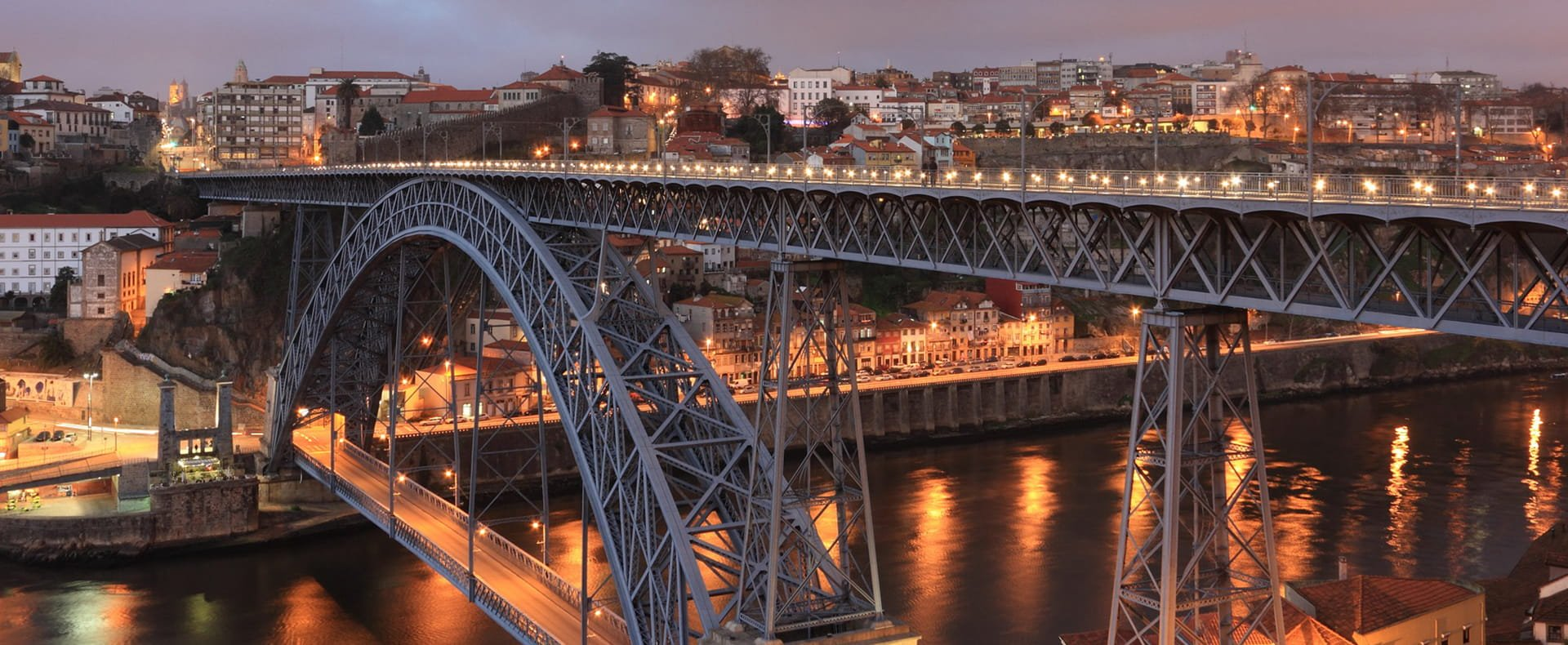 Luis Bridge, Porto, Portugal