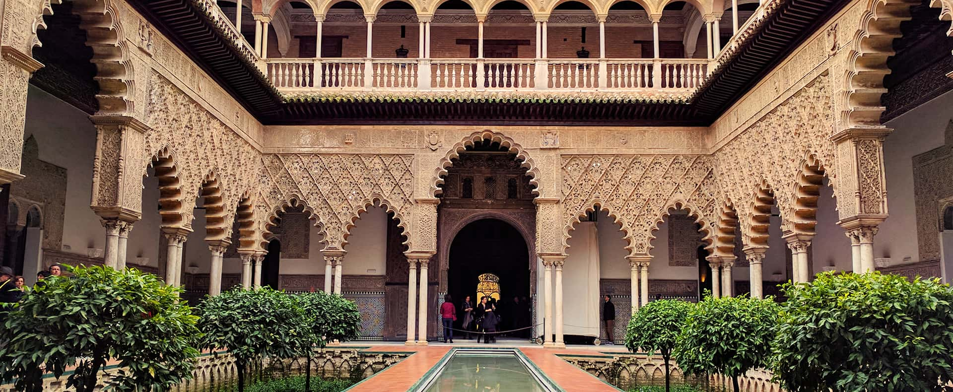 Real Alcazar of Seville, Seville, Spain