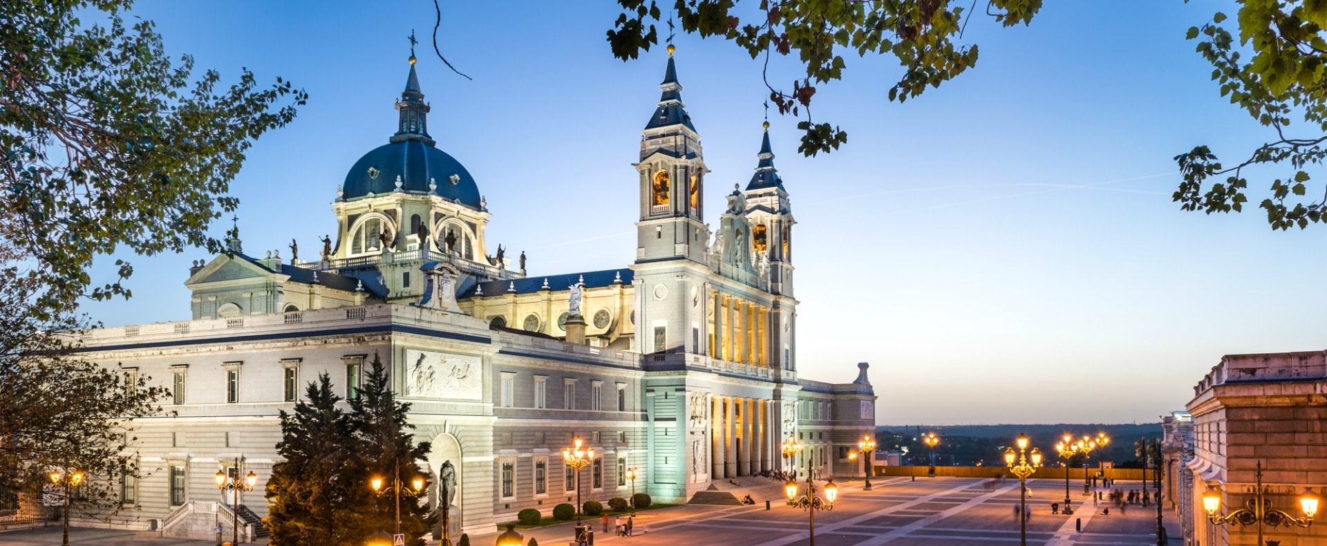Almudena Cathedral Near Royal Palace, Madrid
