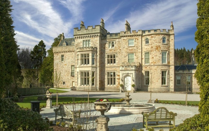 Top Scotland Castle Hotels