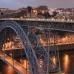 Luis Bridge, Porto, Portugal