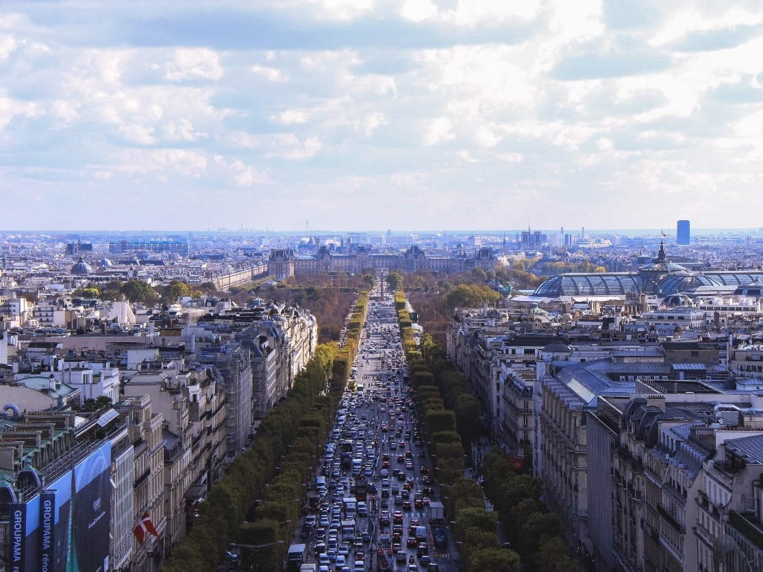Champs-Elysees, Paris