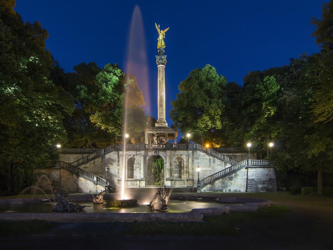 Angel of Peace, Munich