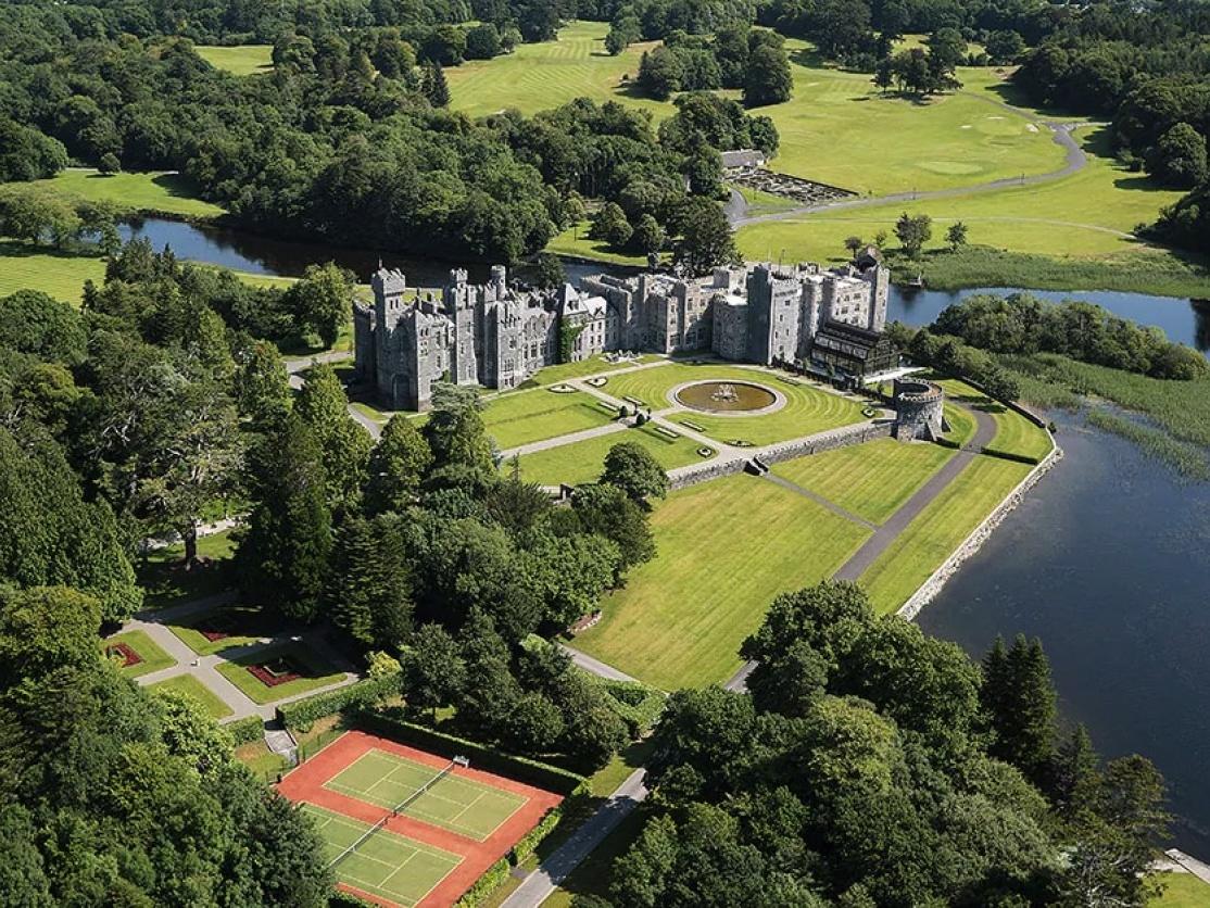 Ashford Castle by Galway, Ireland