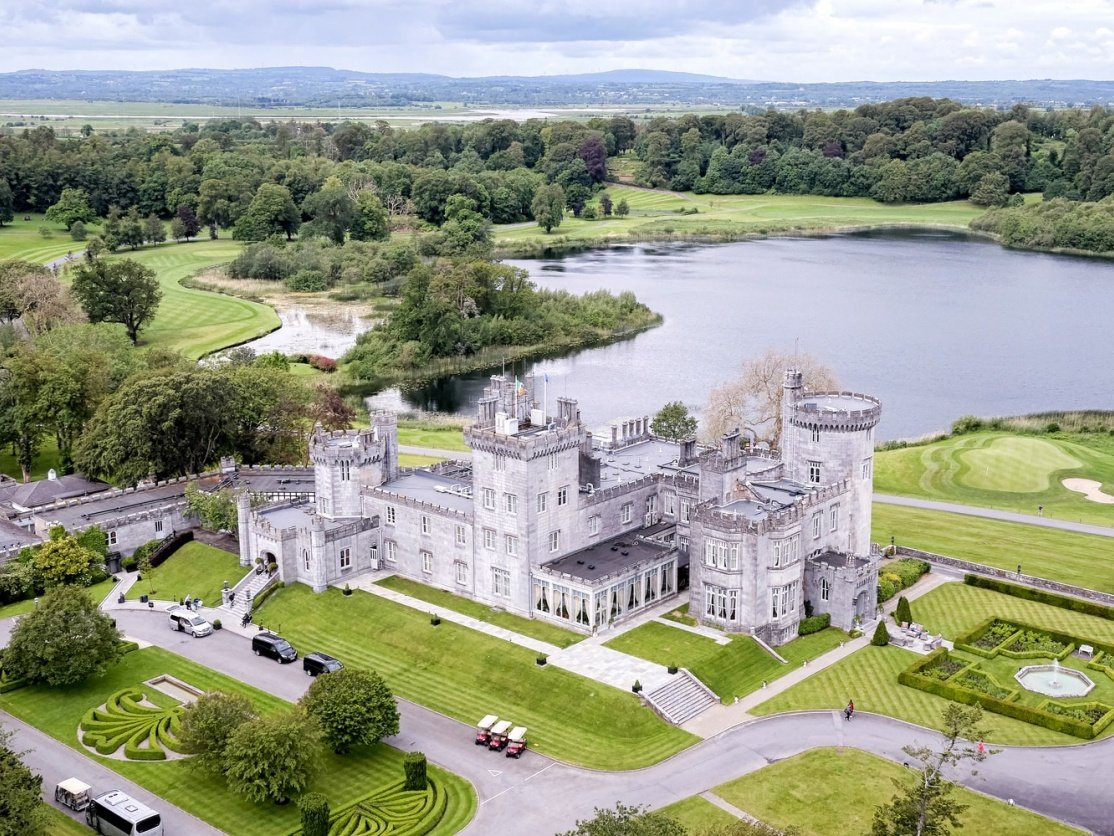 Dromoland Castle near Limerick, Ireland