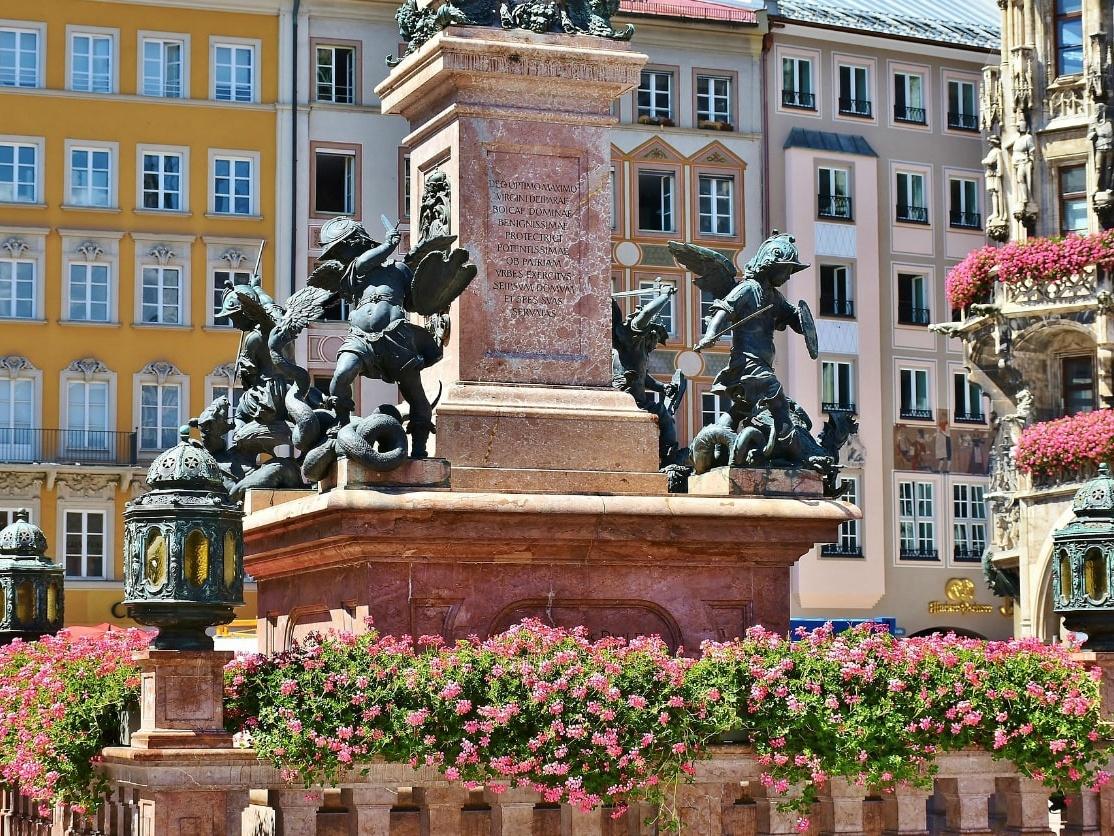 Marienplatz Square, Munich