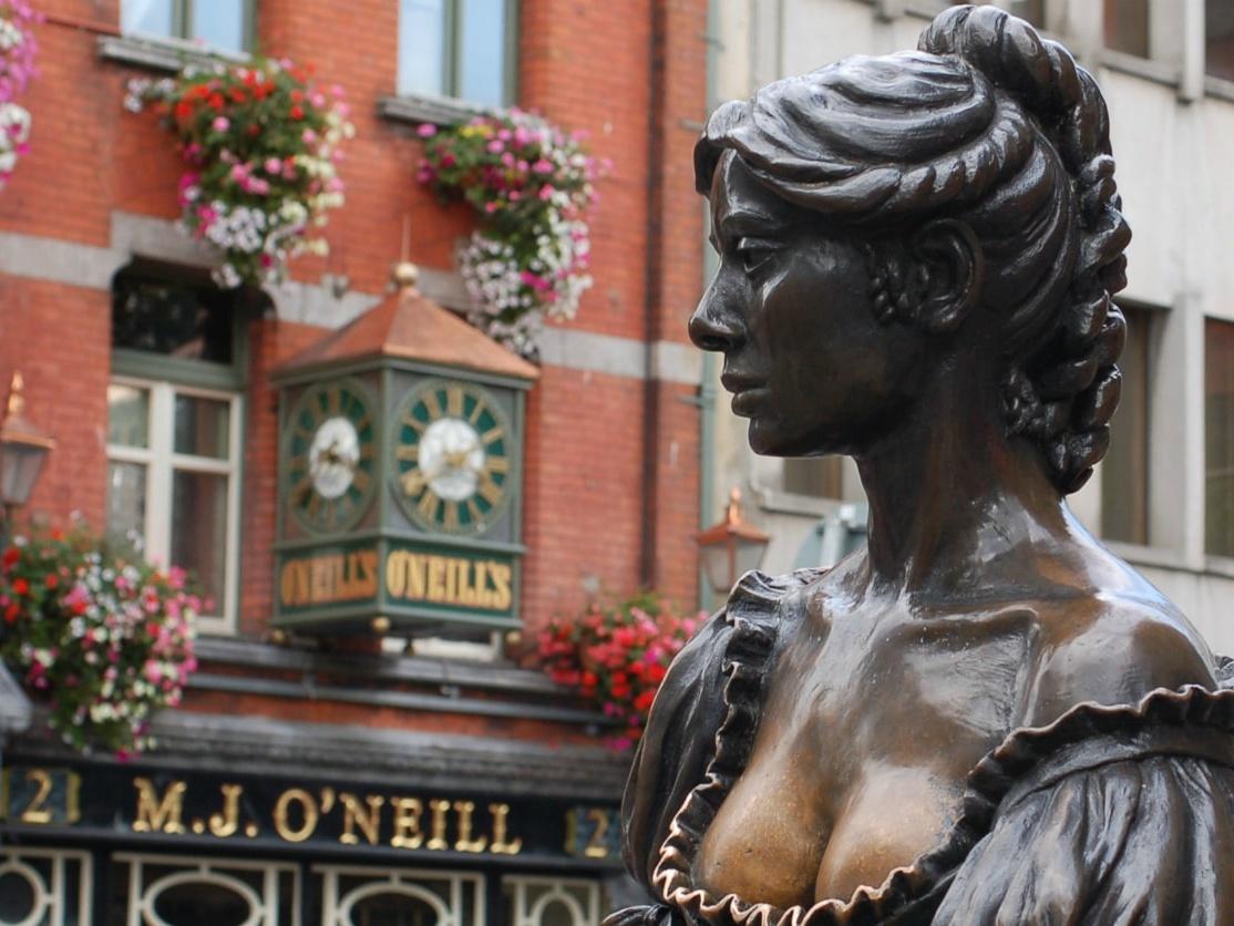 Molly Malone Statue, Dublin