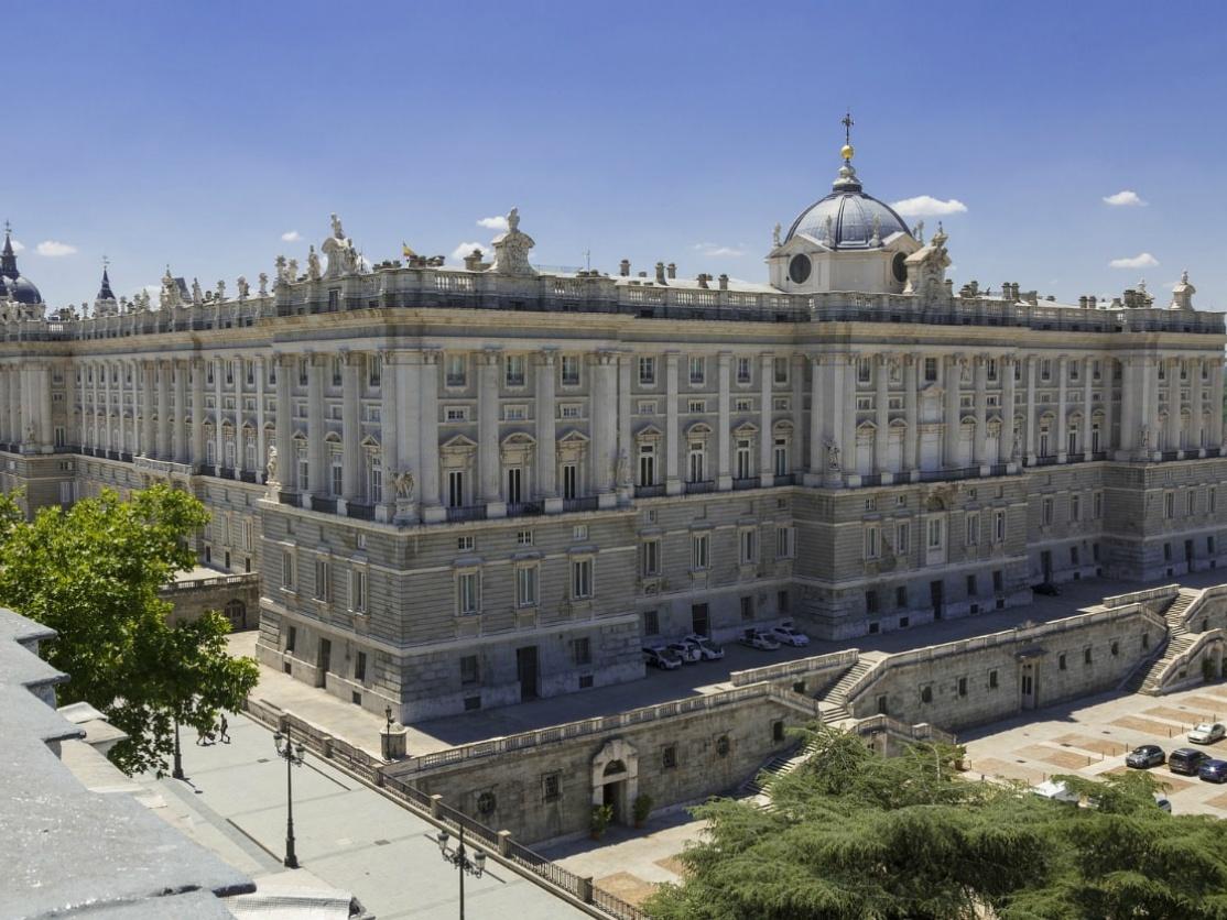 Palace of Madrid, Spain