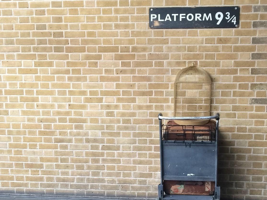 Platform 9¾, London