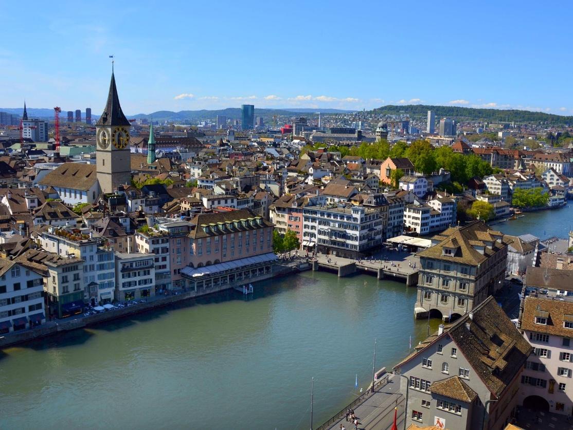Rathausbrucke, Zurich
