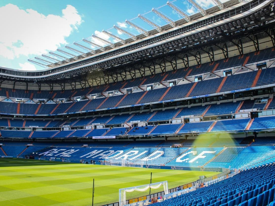 Santiago Bernabeu Stadium, Madrid
