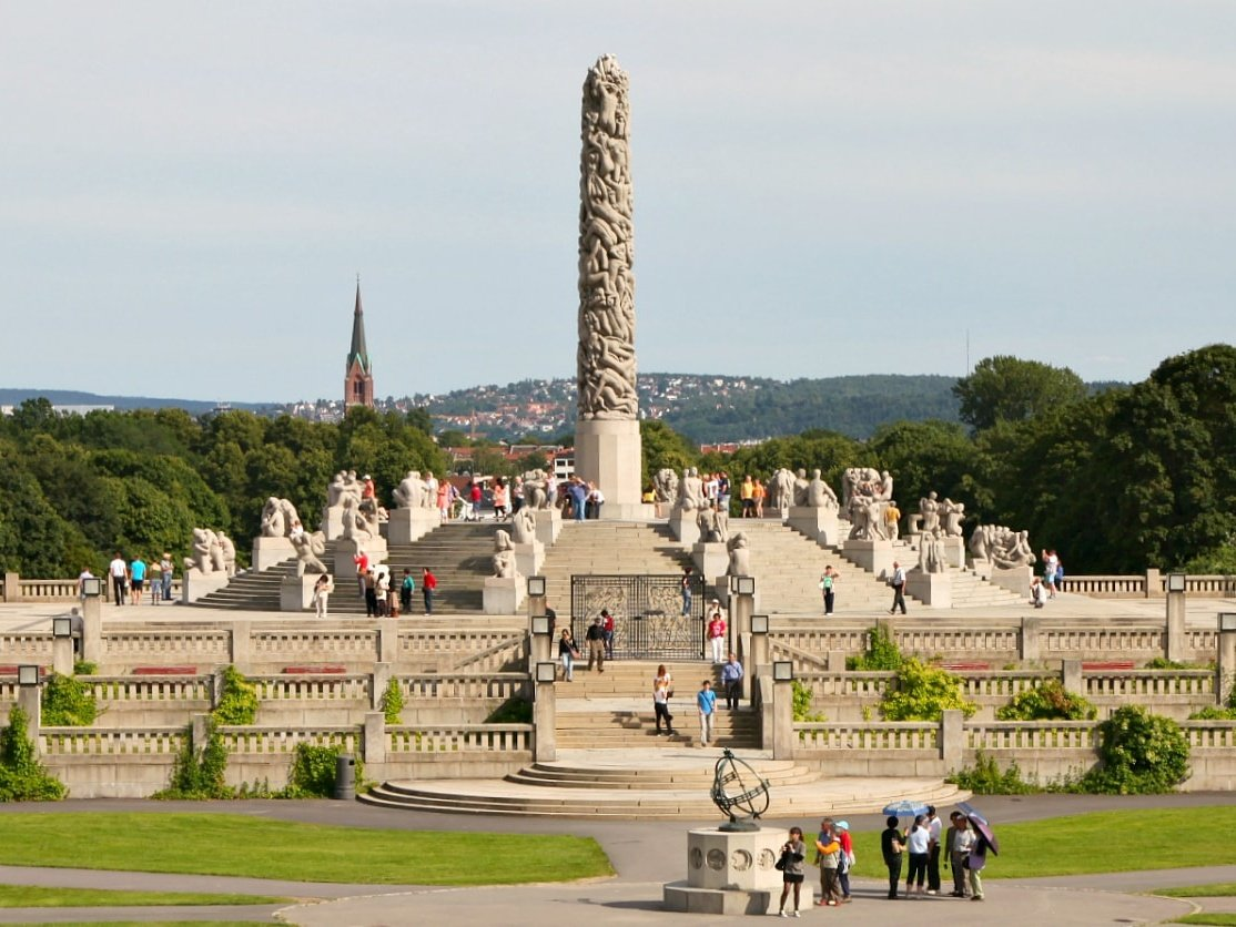The Frogner Park, Oslo