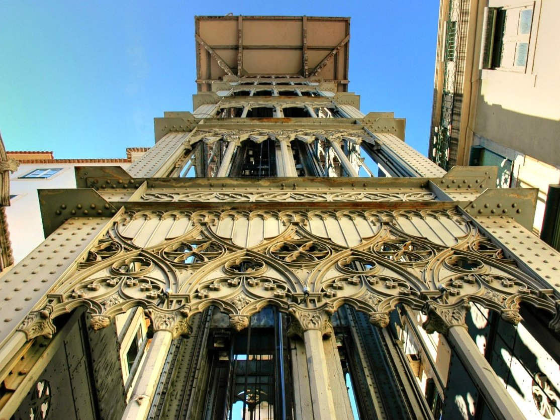 Santa Justa Elevator, Lisbon