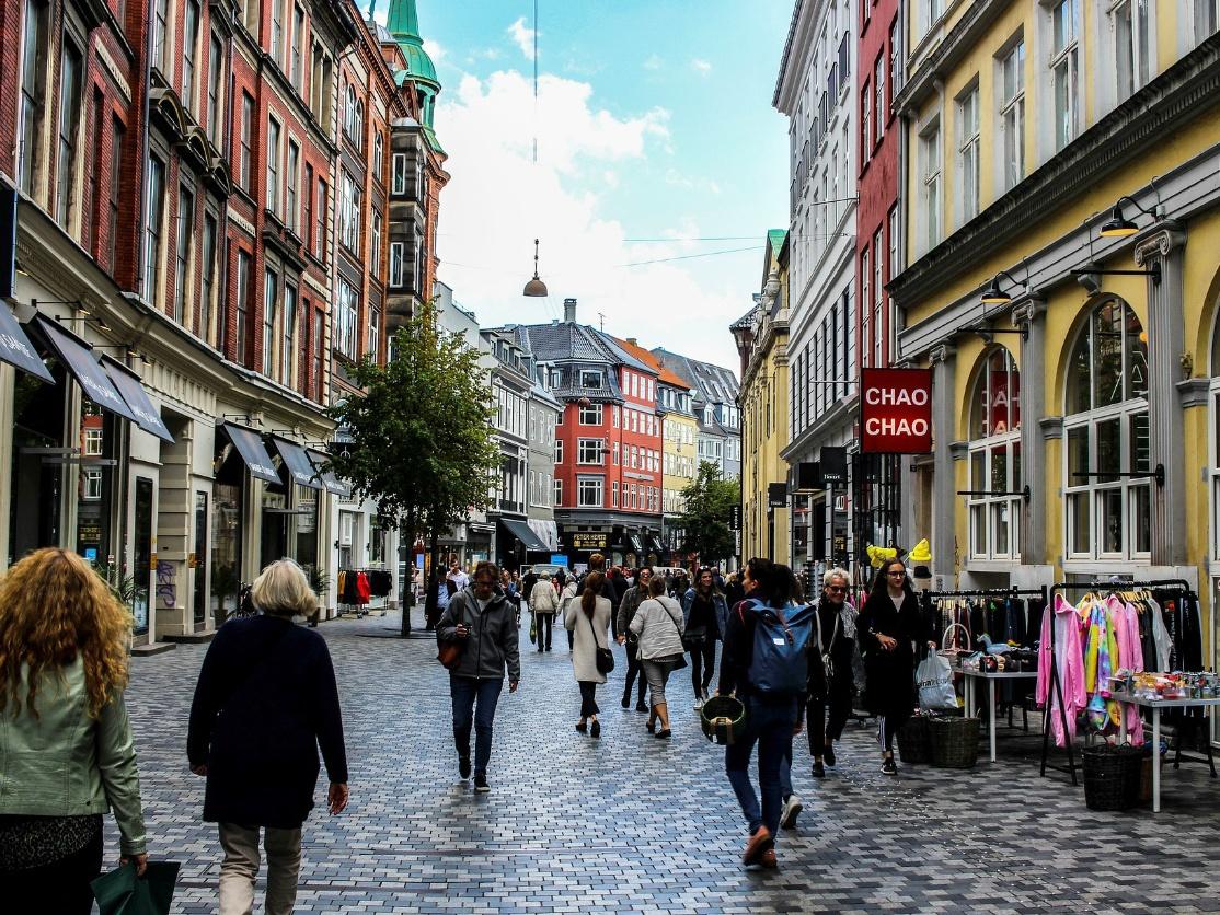 Stroget Shopping Mile, Copenhagen