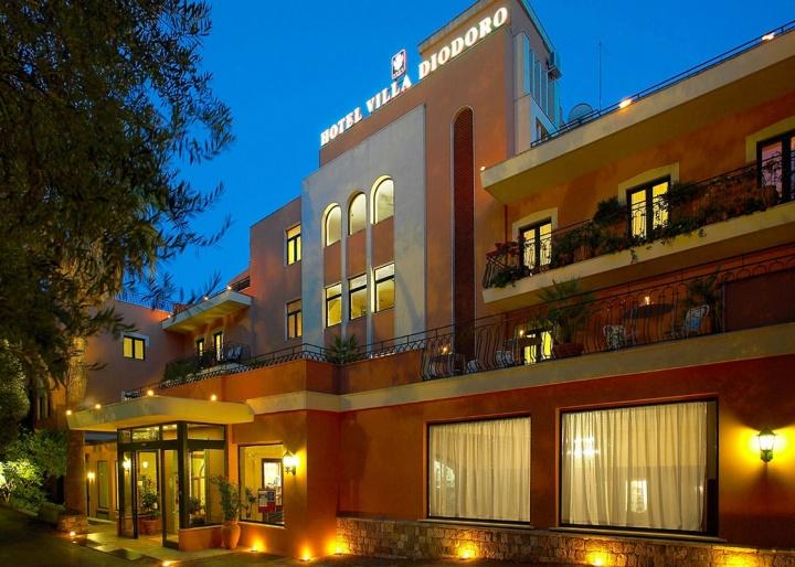 Villa Diodoro Hotel, Taormina
